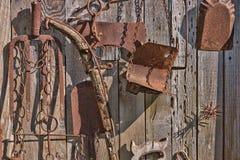 Pioneer Wall Stock Photo