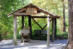Pioneer Wash Shed Stock Photos