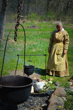 Pioneer Woman Cooking Stock Photography