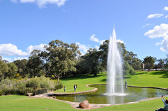 Pioneer Women's Memorial Fountain in Perth Royalty Free Stock Photo