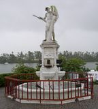 Pioneers of the Sugar Industry Monument in Queensland Australia 1959. Canecutters Memorial is a heritage-listed memorial at Fitzgerald Esplanade, Innisfail Stock Images