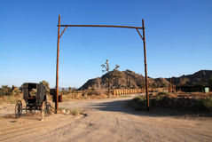 Pioneertown Stock Images