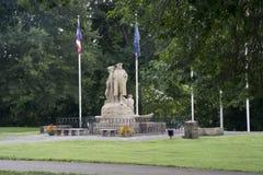 Pionero y colonos monumento, Marietta Ohio imagen de archivo libre de regalías