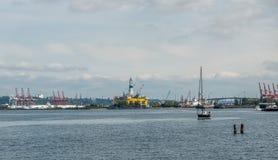 Pioniere polare a Seattle Fotografia Stock Libera da Diritti