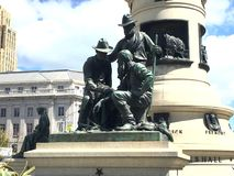 Pioniermonument, San Francisco Civic Center, 6 stockbilder