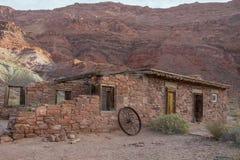 Pionierska farma blisko fusy promu, Arizona obrazy stock
