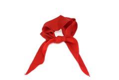 pionierski czerwony krawat Zdjęcia Royalty Free