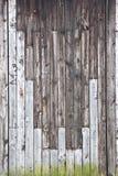 pionowe ściana drewna Obraz Royalty Free