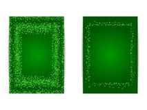 Pionowo świętego Patricks dnia sztandaru szablon Obraz Stock