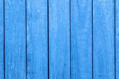 Pionowo Błękitni Drewniani bary tekstury tła zdjęcia royalty free