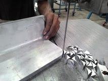 Pionowo Bandsaw Fotografia Royalty Free