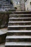 pionowo bunkierów betonowi progi Obraz Stock