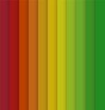 Pionowo Czerwony Żółtej zieleni Kolorowy Pasiasty Bezszwowy tło ilustracji