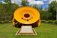 Pionowo Francis turbina Obrazy Royalty Free