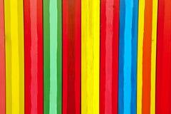 Pionowo kolorowe deski Obraz Royalty Free