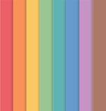 Pionowo Kolorowy Pasiasty Bezszwowy tło ilustracja wektor