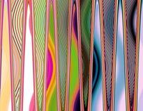 Pionowo metal mozaiki tło Zdjęcie Stock