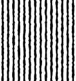 Pionowo nieregularny, ręki rysować linie Powtarzalny wzór ilustracji