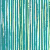 Pionowo painterly menchie, błękit, koralowi pasteli/lów lampasy Zwarty bezszwowy wektoru wzór na turkusowym cyraneczki tle wielki royalty ilustracja