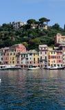 Pionowo Portofino schronienie Fotografia Royalty Free