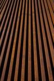 Pionowo stalowe Linie Kolejowe   Zdjęcie Stock