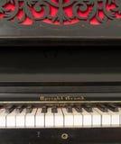 Pionowy uroczysty pianino Obraz Stock