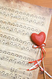 piosenka miłosna Zdjęcie Stock