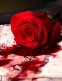Piosenka miłosna obrazy royalty free