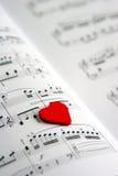 piosenka o miłości Obrazy Royalty Free