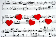 piosenka o miłości Obrazy Stock