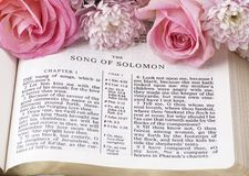 Piosenka Solomon Obraz Royalty Free