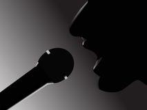 piosenkarz Fotografia Stock