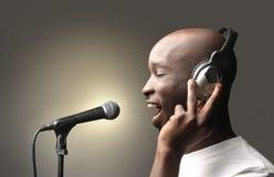 piosenkarz Zdjęcie Stock