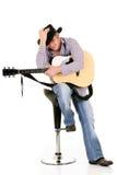 piosenkarz country western Fotografia Royalty Free