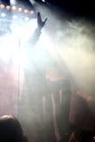 Piosenkarz na scenie Zdjęcia Stock
