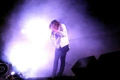 Piosenkarz Orwells muzyka na żywo przedstawienie przy Bime festiwalem (zespół) Obraz Royalty Free