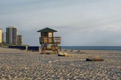 Piosenkarz wyspy miasta plaża Zdjęcie Stock