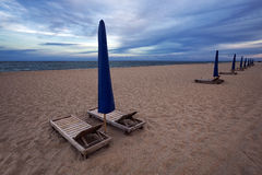Piosenkarz wyspy miasta plaża Obraz Royalty Free