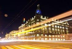 Piosenkarza dom, Nevsky Prospekt 08 12 15, Nevsky perspektywa - główna ulica St Petersburg Zdjęcie Royalty Free