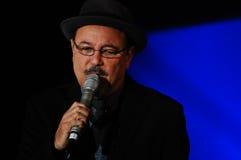 Piosenkarza Rubén ostrza Obrazy Royalty Free