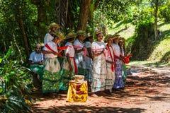 Piosenki ludowa Madagascar, Afryka Fotografia Stock