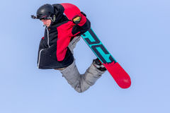 Piotr Janosz polsk snowboarder Royaltyfri Fotografi