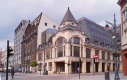 Piotrkowska Street ,Lodz,Poland Stock Images