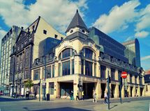 Piotrkowska Street ,Lodz,Poland Royalty Free Stock Photos