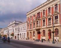 Piotrkowska Street ,Lodz,Poland Royalty Free Stock Image