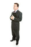 Pious Preacher or Businessman Royalty Free Stock Photos