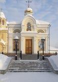 Piously-Nikolaev man's monastery. Royalty Free Stock Images