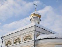 Piously-Nikolaev man's monastery. The Piously-Nikolaev man's monastery. The city of Verhoture. Sverdlovsk area Stock Images