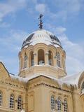 Piously-Nikolaev man's monastery. The Piously-Nikolaev man's monastery. The city of Verhoture. Sverdlovsk area Stock Image