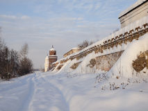 Piously-Nikolaev man's monastery. The Piously-Nikolaev man's monastery. The city of Verhoture. Sverdlovsk area Stock Photography